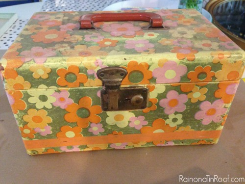 jackie kennedy inspired vanity case, home decor, repurposing upcycling