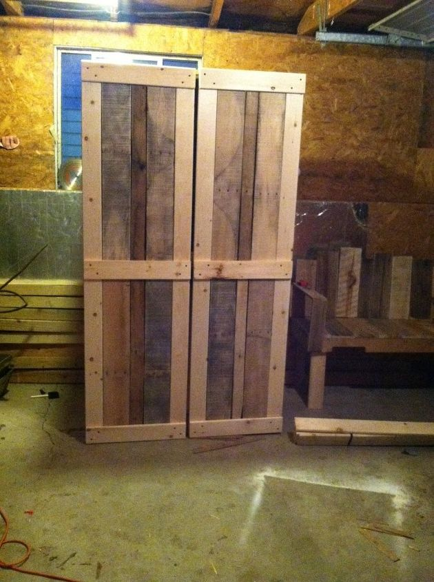 scrap book cabinet made pallets and other wood, diy, pallet, repurposing upcycling, woodworking projects
