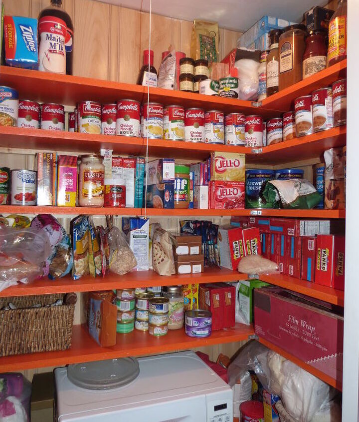 our new pantry, closet