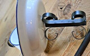 enamelware tea cup bird feeder, crafts, outdoor living, repurposing upcycling