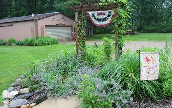 A June Garden Stroll Thru the Small House Garden