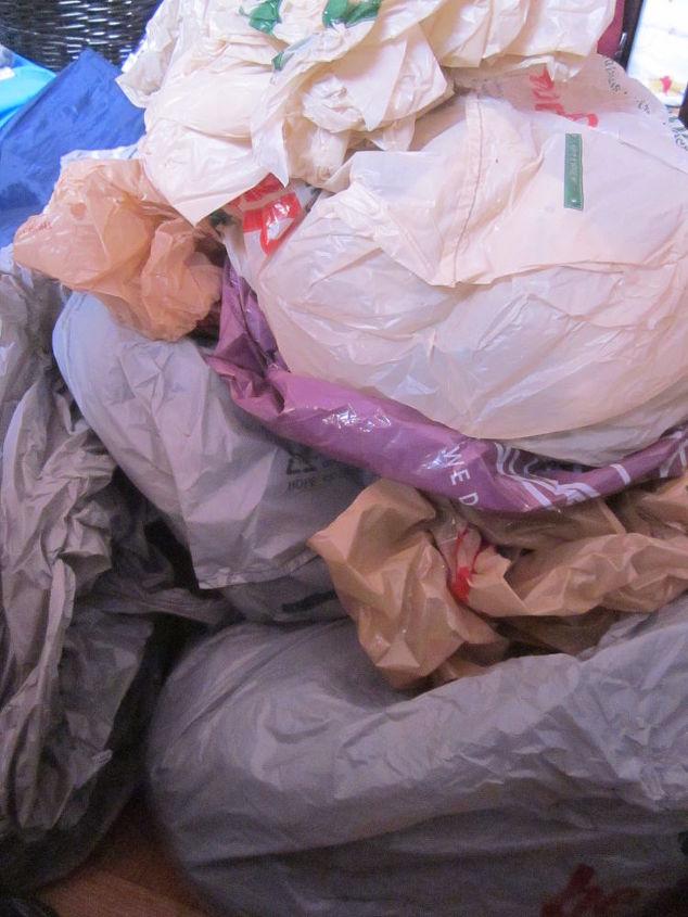 Recycled Plastic Bag Decor Pillow Hometalk