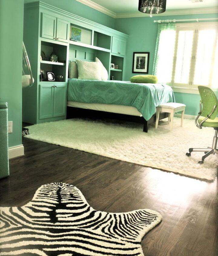 Completed bedroom suite