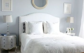 Master Bedroom on a Budget - Loads of DIY and Repurposed Ideas