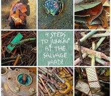 how to shop at a salvage yard, repurposing upcycling