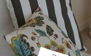 diy no sew envelope pillow tutorial, crafts, reupholster
