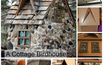 A Stone Cottage Birdhouse