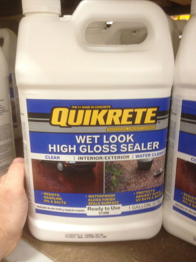 Quikrete Sealer