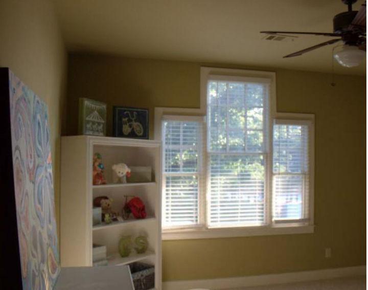 Windows in Nursery