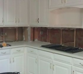Q Help Cement Board Sheetrock More Drywall For Tiling Kitchen Backsplash,  Home Maintenance Repairs,
