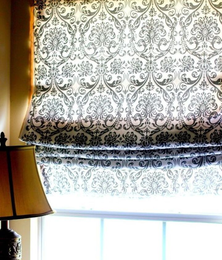 shades window no sew roman, diy, home decor, reupholster, window treatments