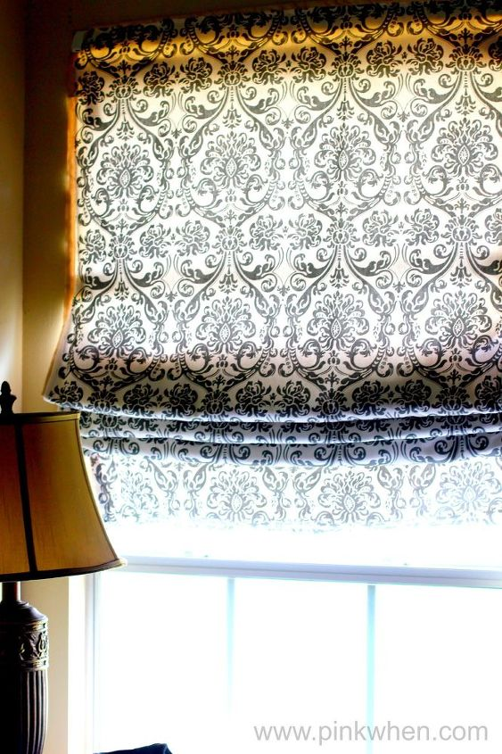 Diy No Sew Roman Shade With 5 Minute Step By Step Video