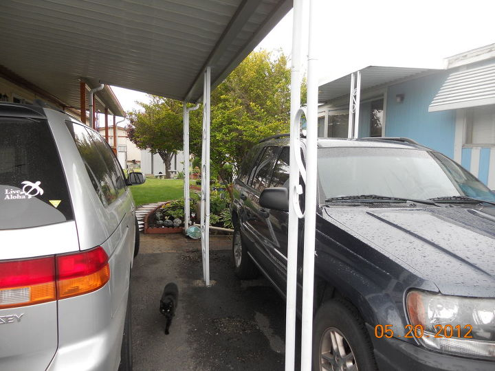 q carport canopy supports advice, concrete masonry, curb appeal, doors, garages, home maintenance repairs, how to