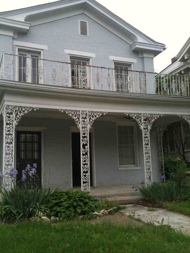 my new home built in 1832 and historic, curb appeal, painting