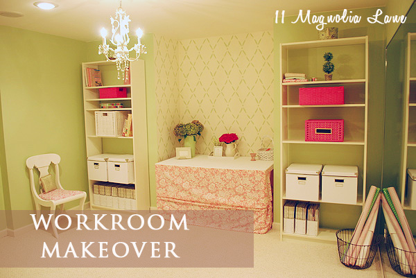 A Storage Room Turned Pretty Craft Sewing Work Rooms Home Decor