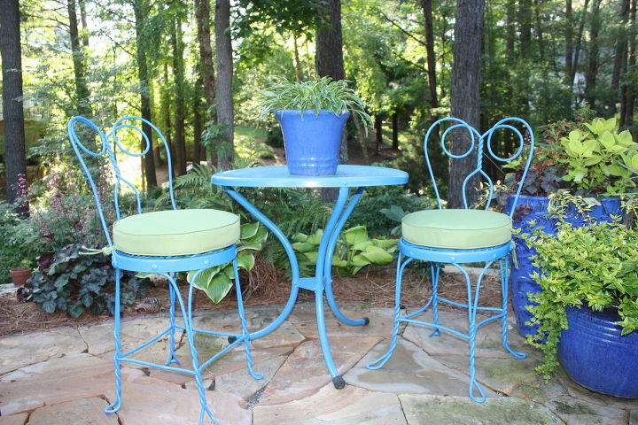 old furniture new paint, outdoor furniture, outdoor living, painted furniture