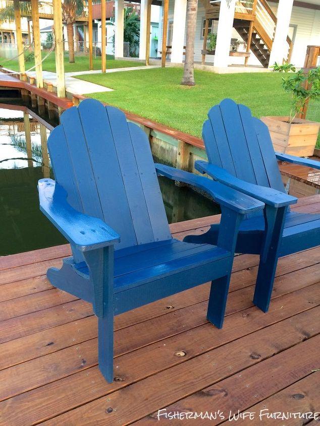 Greatest DIY Adirondack Chairs   Hometalk TO79