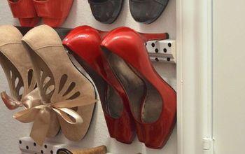 High Heel Shoe Storage #Closettips