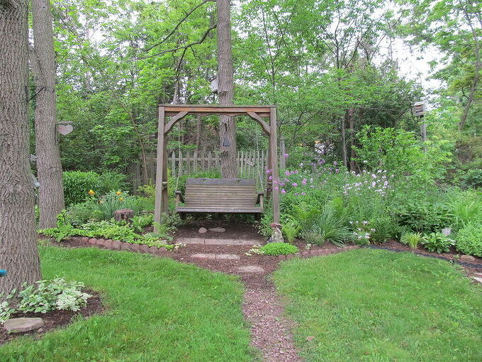 the swing, outdoor living, My quiet place