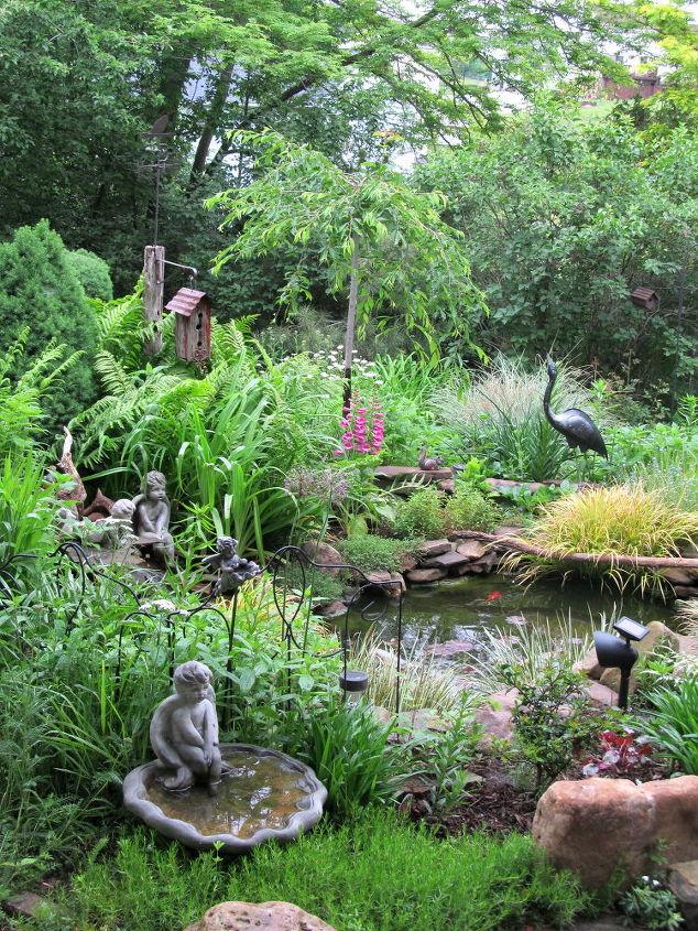 the garden, gardening, outdoor living, ponds water features, Listen
