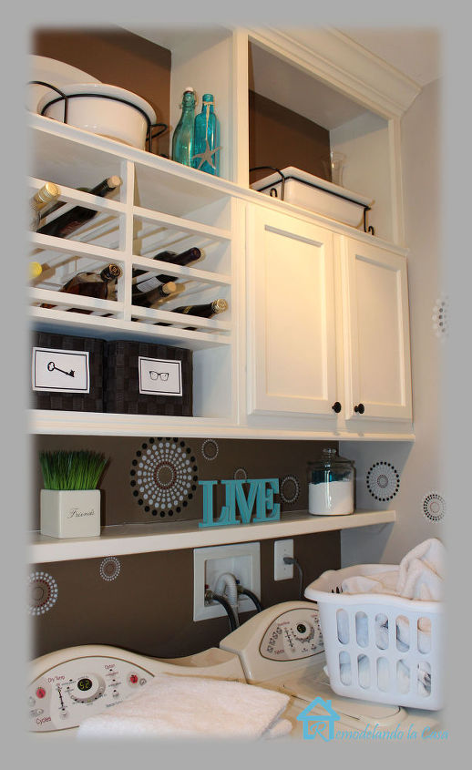 laundry room makeover, garages, laundry rooms, storage ideas