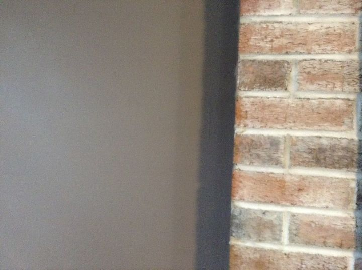Best Tan Color To Match Whitewash Fireplace Hometalk