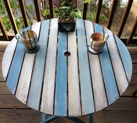 Chalk Paint Patio Table, Outdoor Furniture, Painted Furniture Part 3