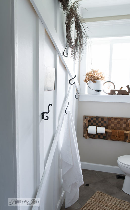 Small Bathrooms Big Towel Wall Hometalk - Big towels for small bathroom ideas
