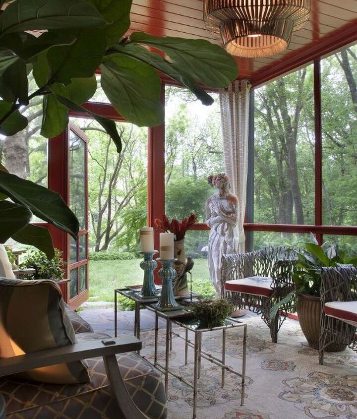 the showhouse porch that inspired her