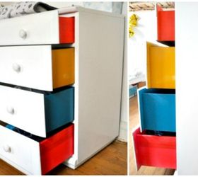 Taste The Rainbow 6 Ways To Color Block Your Home, Home Decor, Painted  Furniture
