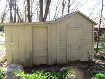 Shed for a Maine camp.