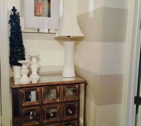 Home Decor Stairway Landing Makeover, Foyer, Home Decor, Painting, Stairs,  Wall