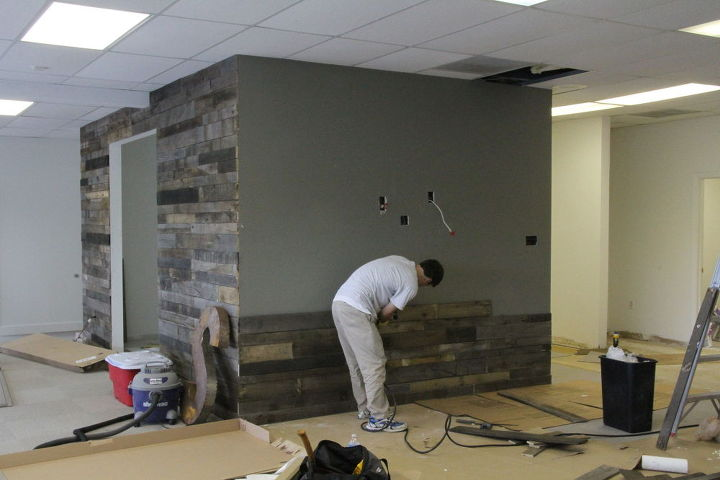Second Wall Going Up