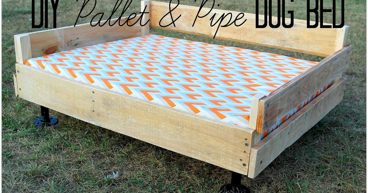 Pallet Pipe Dog Bed Platform Hometalk