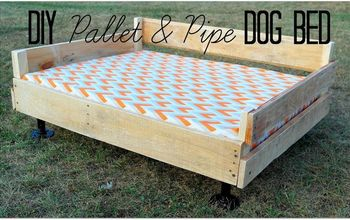Pallet & Pipe Dog Bed Platform