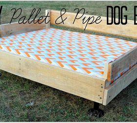 Pallet Pipe Dog Bed Platform, Diy, Pallet, Pets Animals, Repurposing  Upcycling, ...