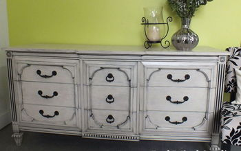 painted furniture dresser black wash, painted furniture