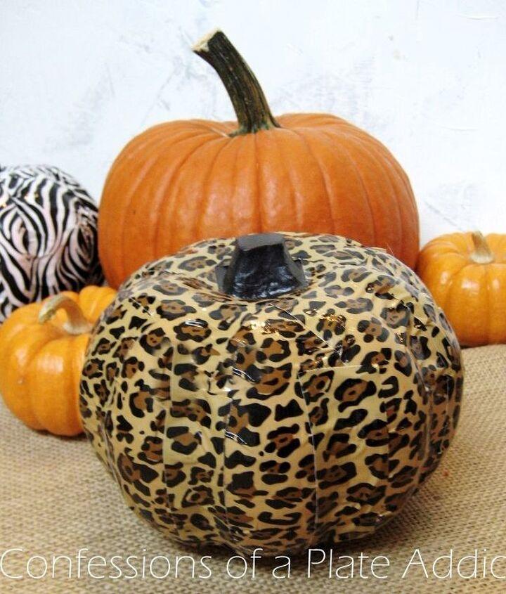 halloween fun easy duct tape pumpkins, crafts, halloween decorations, home decor