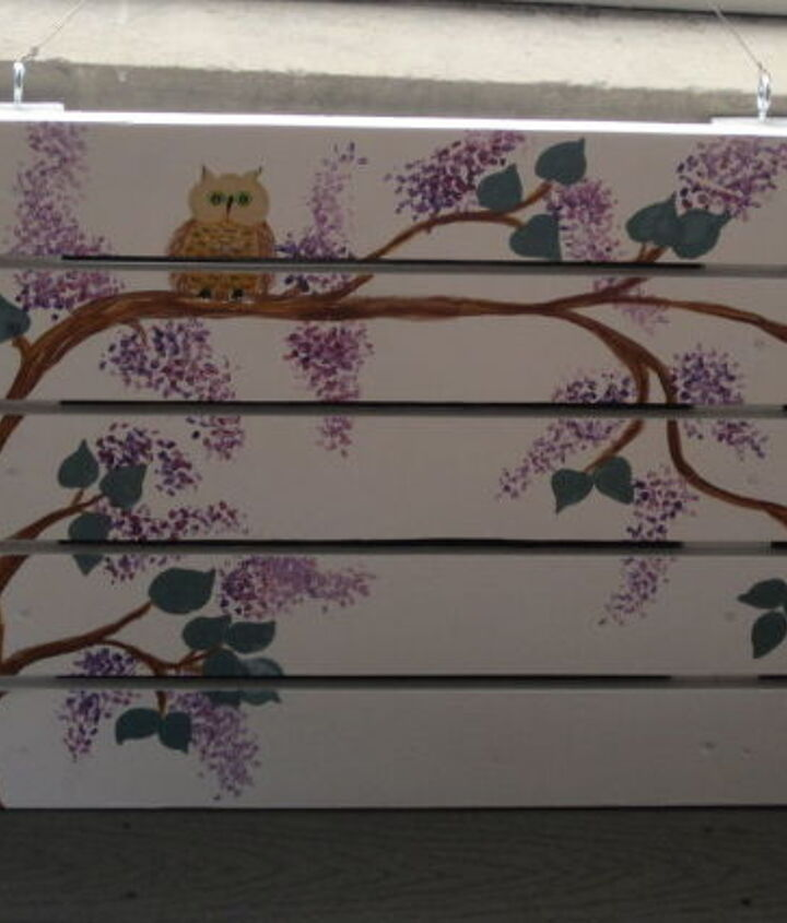Owls and Lilacs