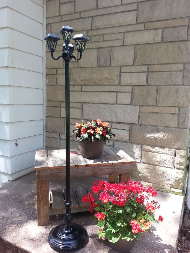 Repurposed Lamps Into Patio Solar Lights | Hometalk