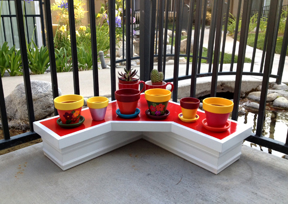 my cute colorful plant pot series, crafts, gardening