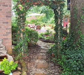 Gardening Backyard Home Whimsical Tour, Flowers, Gardening, Landscape,  Outdoor Furniture, Outdoor