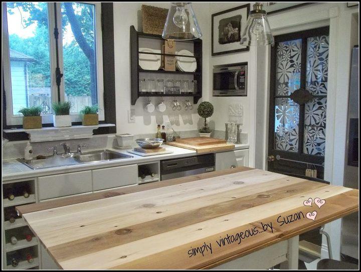 Adding planks to a kitchen island hometalk - Adding a kitchen island ...
