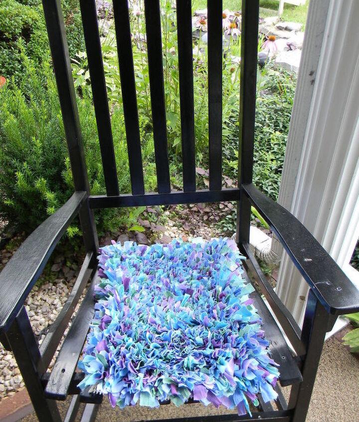diy shag rug dorm decor backtoscool, home decor, repurposing upcycling, reupholster