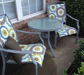 redo patio sling chairs for under 25 hometalk rh hometalk com diy redoing patio furniture redoing wicker patio furniture