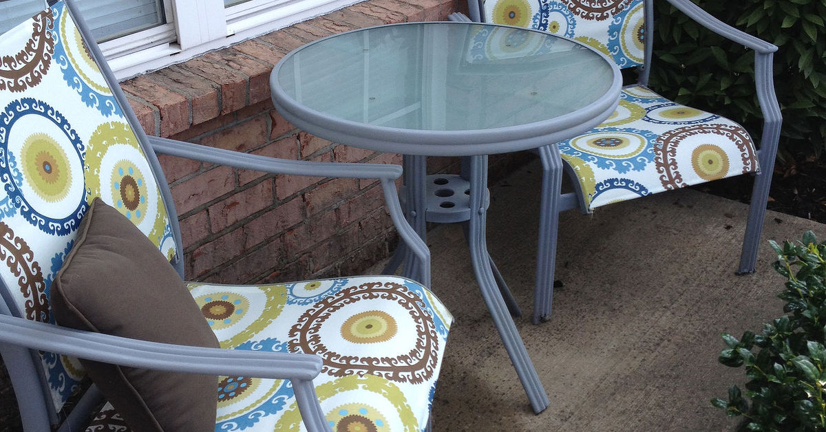 Redo Patio Sling Chairs For Under 25 Hometalk