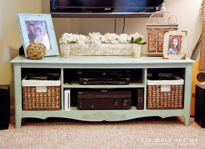Make a TV Console From Old Entertainment Center | Hometalk