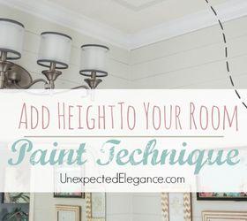 Superior Painting Ceiling Add Height Taller Enlarge, Bathroom Ideas, Painting, Small  Bathroom Ideas