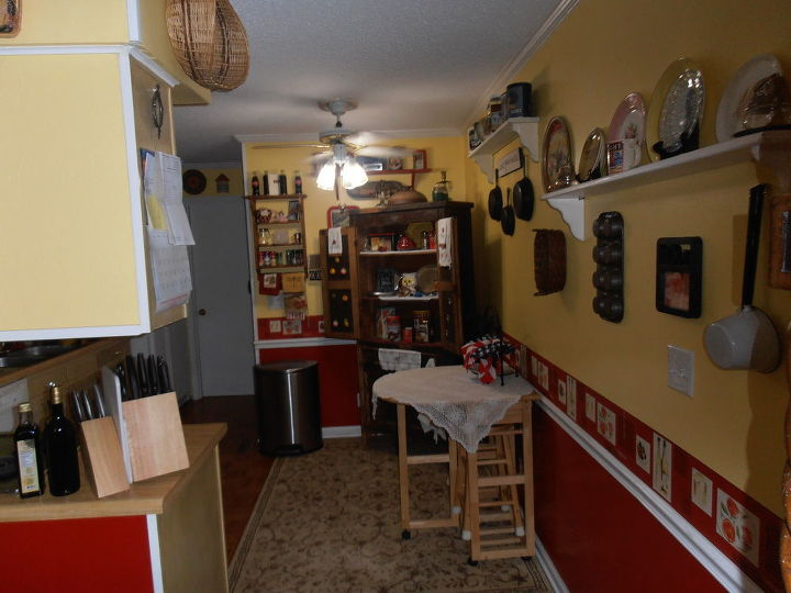 remodeled kitchen, home decor, kitchen design, country and comfy