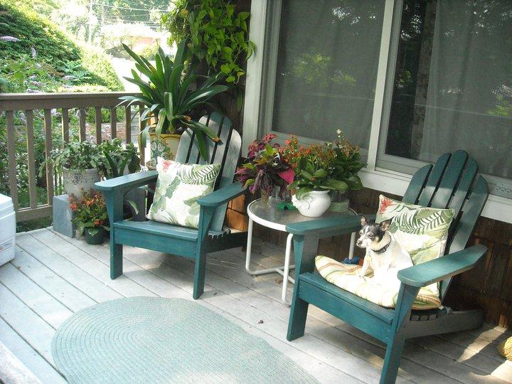 my backyard porch, outdoor living, porches